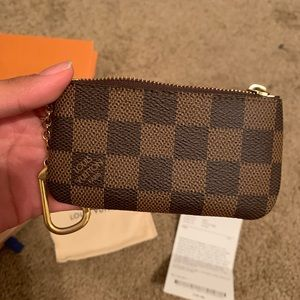 Louis Vuitton keychain wallet